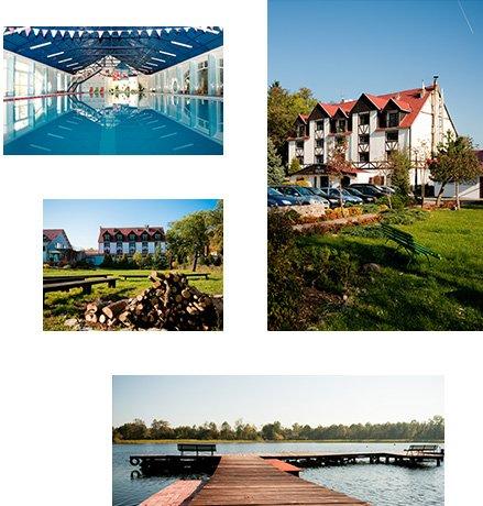 Hotel Star-Dadaj nad jeziorem na Mazurach