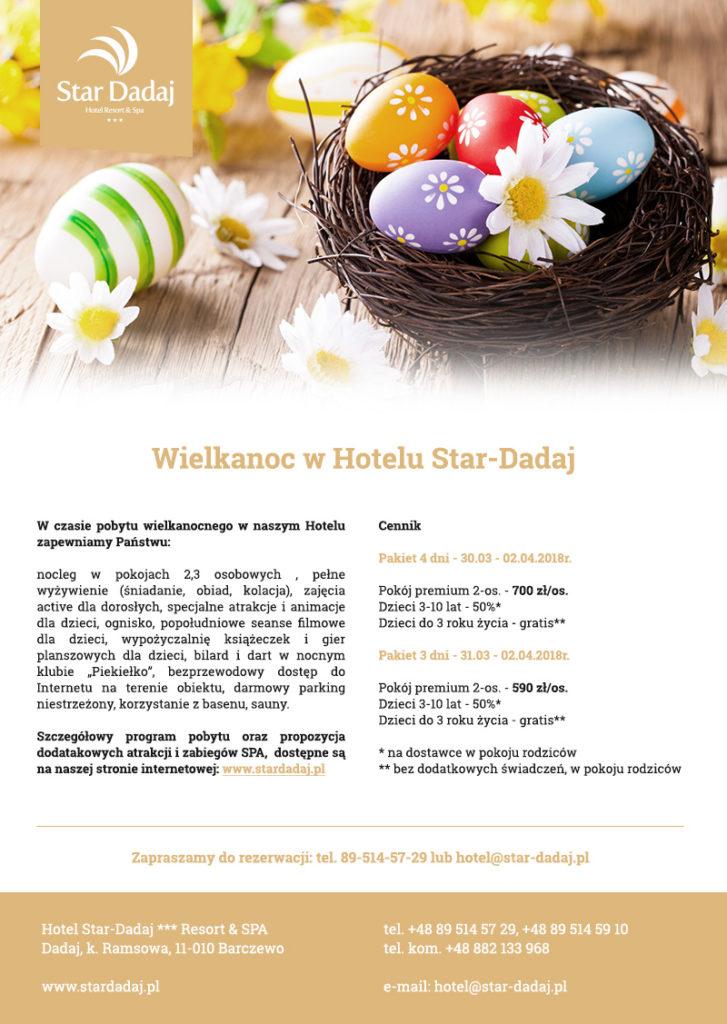 Wielkanoc w Hotelu Star-Dadak - hotel na Mazurach