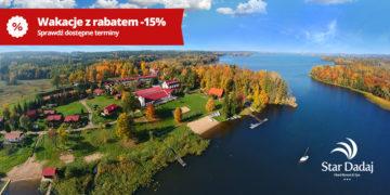 wakacje w Hotelu Star-Dadaj z rabatem -15%