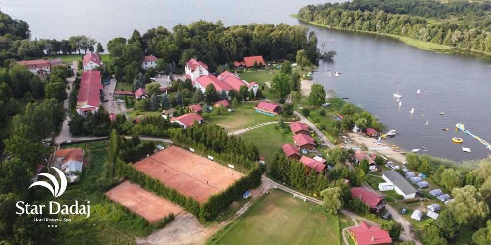 obozy sportowe na mazurach hotel nad jeziorem